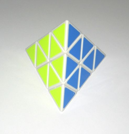 Shengshou Pyraminx Blanco