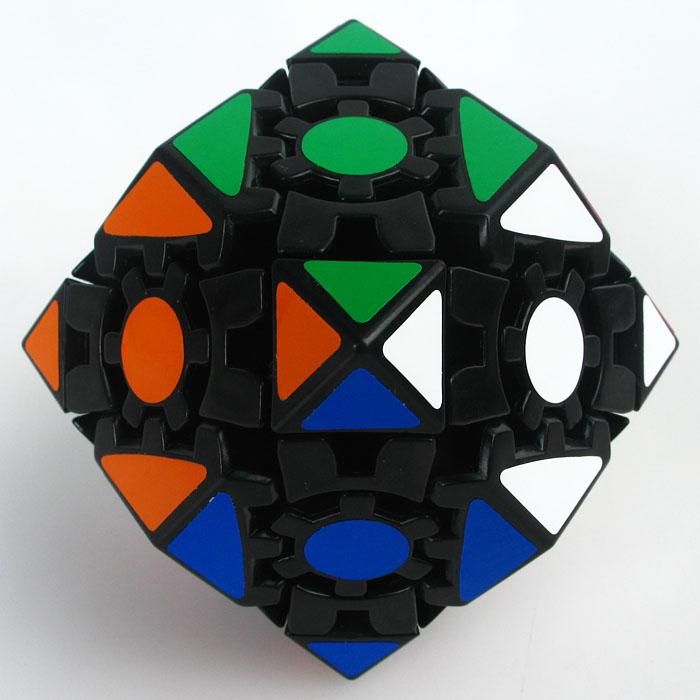 Lanlan Gear rómbico dodecaedron etiquetas simples
