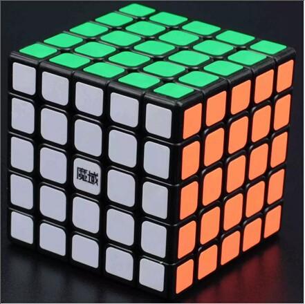 Moyu 5x5x5 Huachuang negro