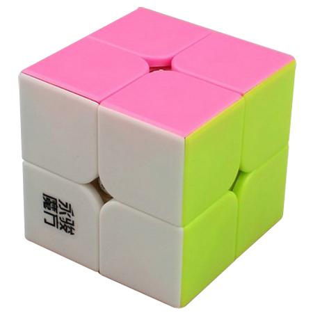 YJ Yupo 2×2 stickerless con rosado