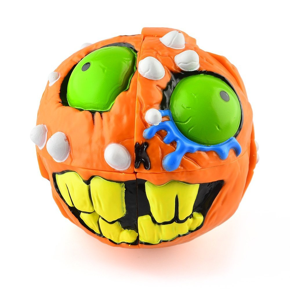 MAD HEDZ Cráneo Loco 2×2 – naranja