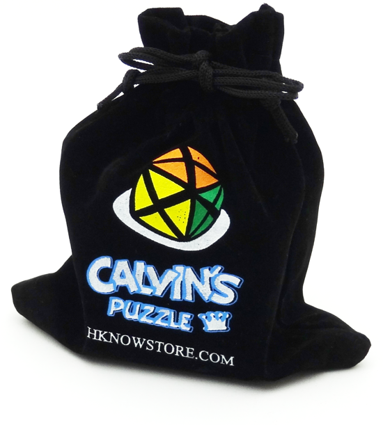 Calvin bolsa porta cubos negra