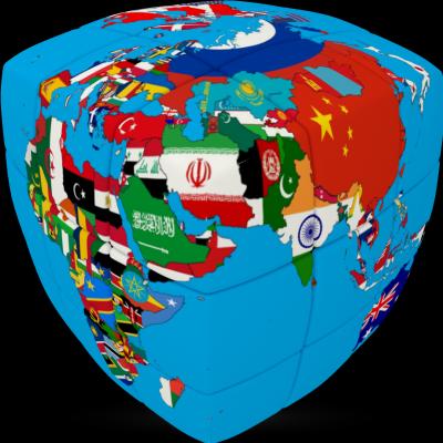 V-Cube united nations 3×3