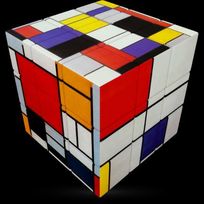 V-Cube mondrian 3×3