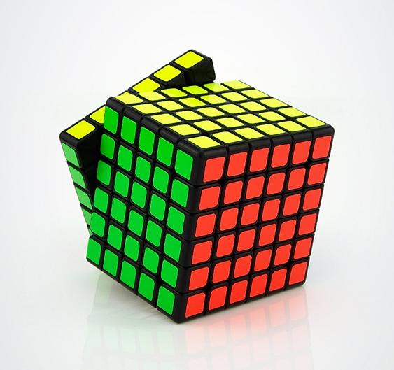 Moyu 6x6x6 WeiShi negro