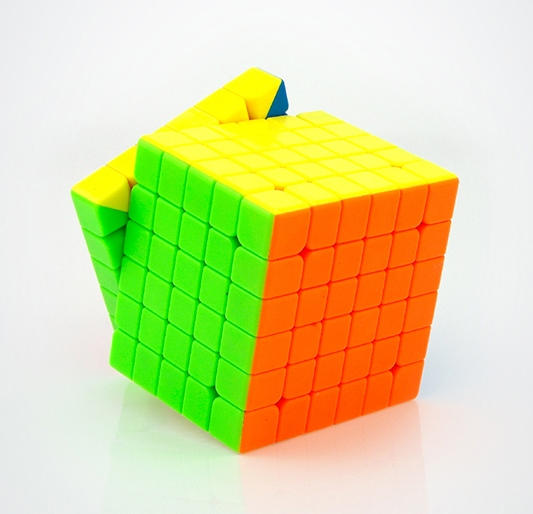 Moyu 6x6x6 WeiShi stickerless
