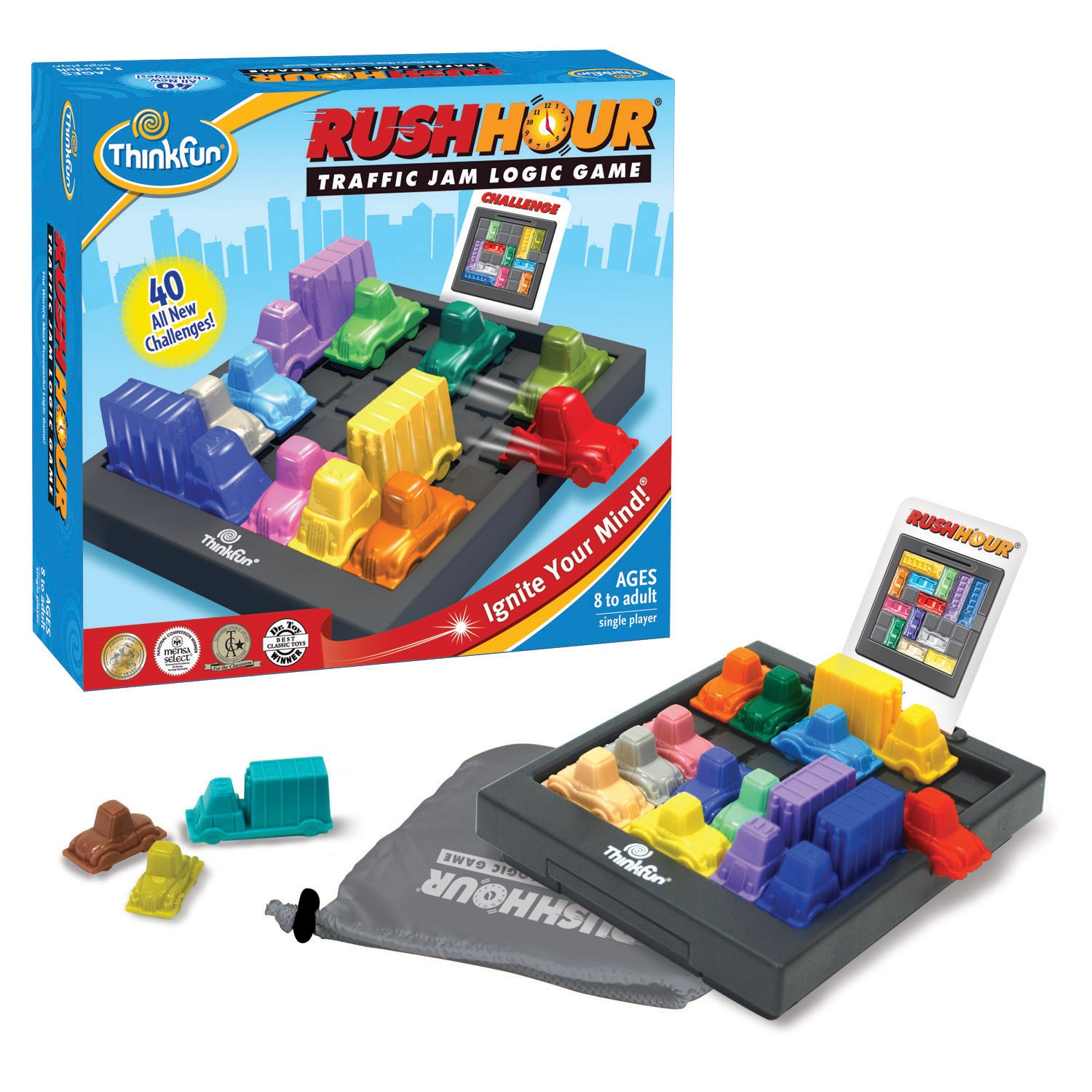 ThinkFun Rush Hour (Hora Pico)