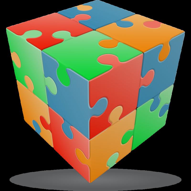 V-Cube rompecabezas 2×2