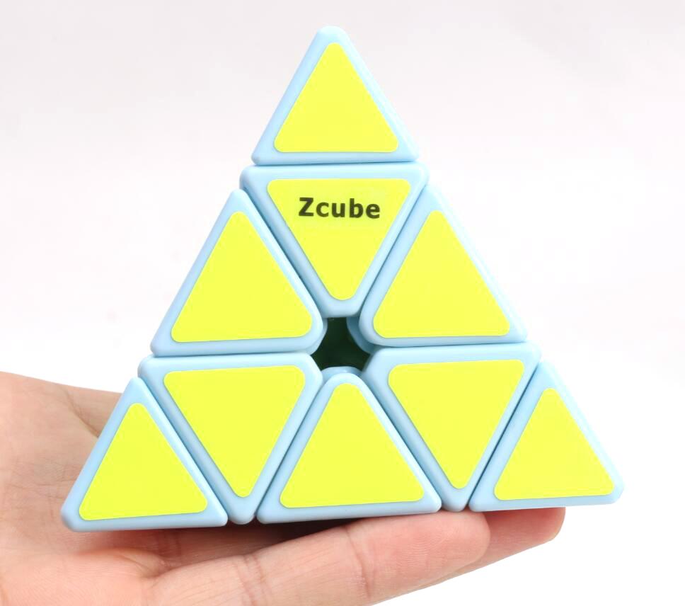 Z Cube Pyraminx celeste