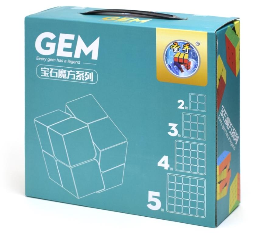 Shengshou Paquete GEM 2-3-4-5 Stickerless