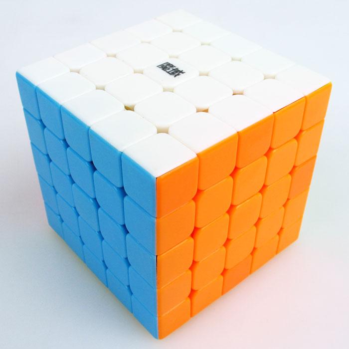 Moyu 5x5x5 Aochuang stickerless brillante