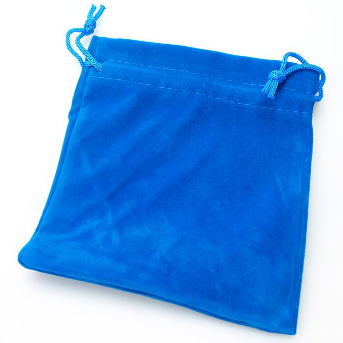 Bolsa portacubos azul M