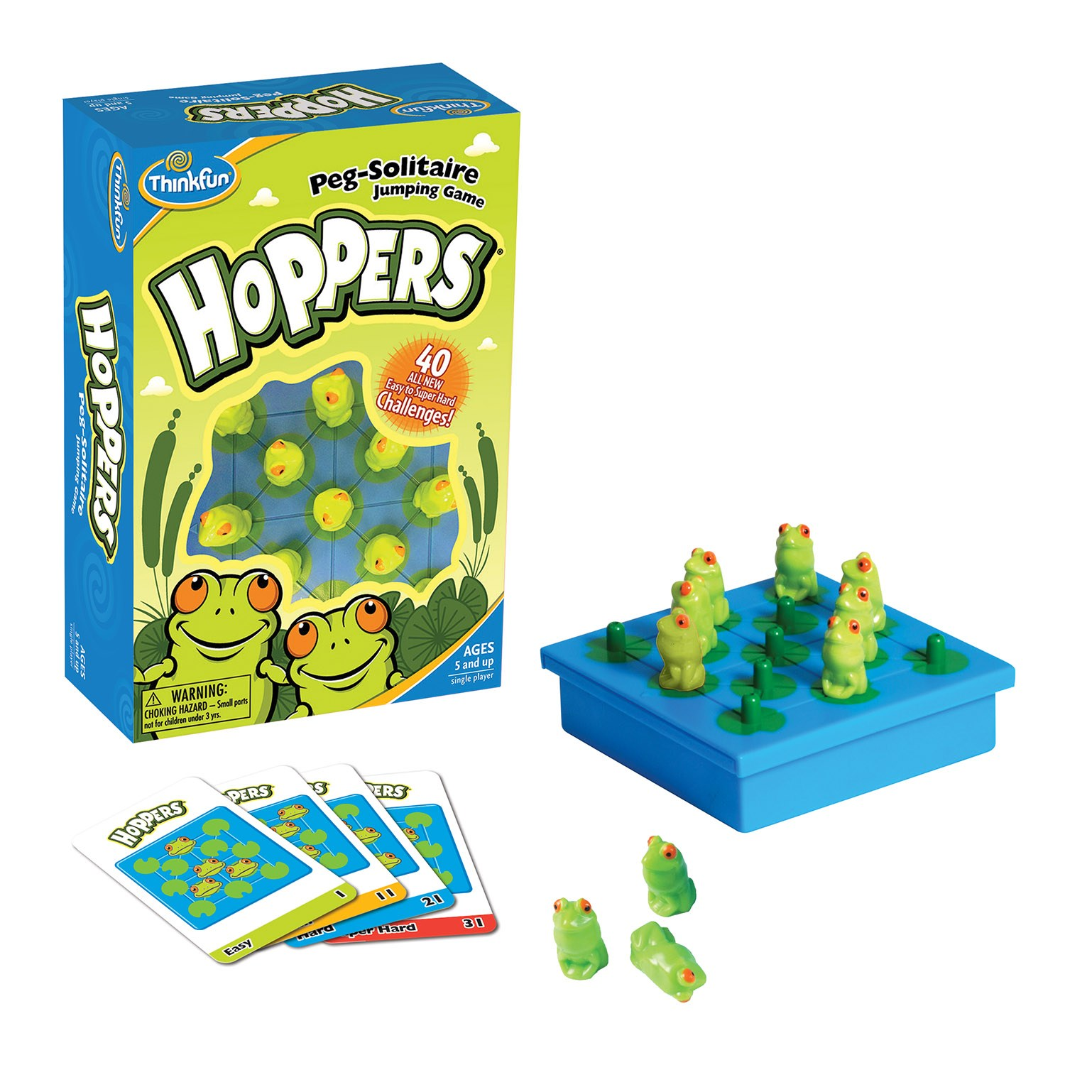 ThinkFun Hoppers (Ranas Saltarinas)