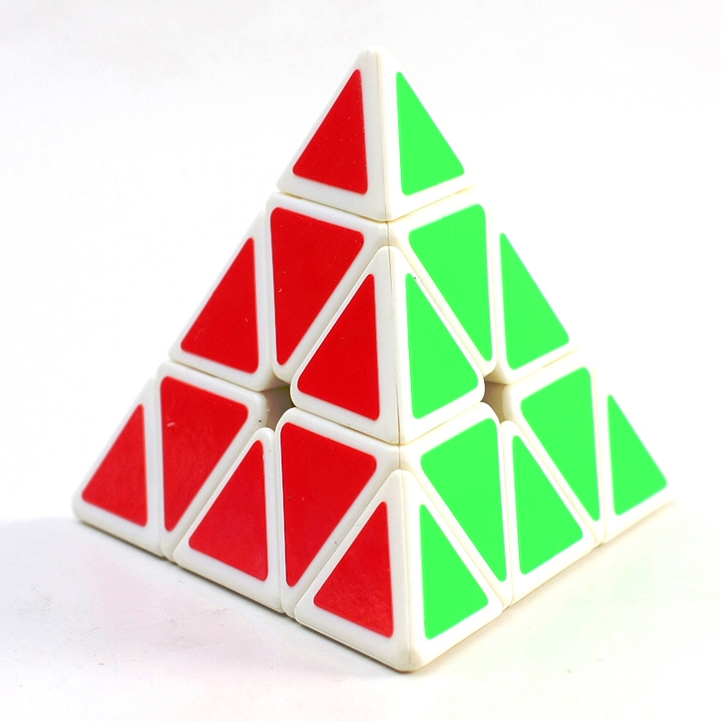 QiYi QiMing Pyraminx blanco